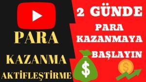 YouTube ile Para Kazanma YouTube İçerik Oluşturucu
